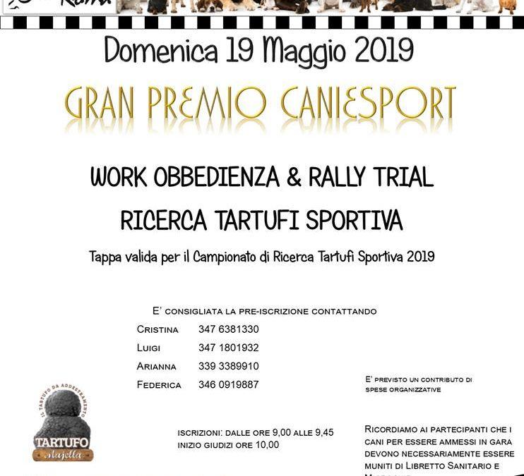 ROMA – 19 Maggio – Gran Premio CANI e SPORT